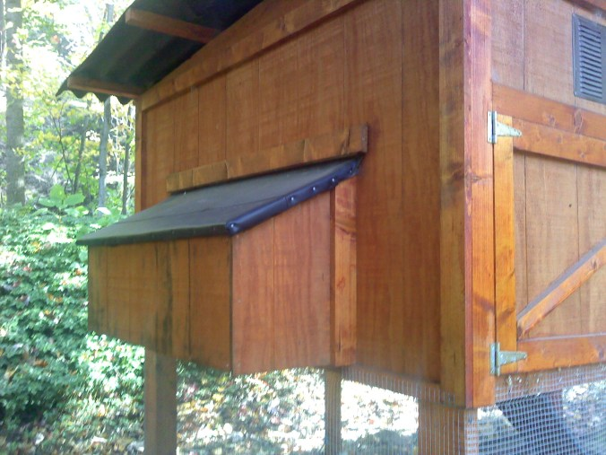 Garden Coop Modification: Egg/Nest Boxes